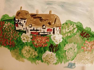 Painting - A Country Scene by Marie Bulger