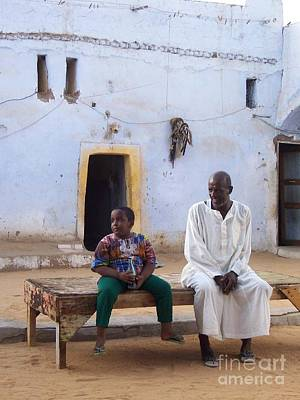 Father And Son Photograph - A Courtyard In Time by Erin Dorrance