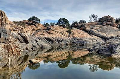 Prescott Photograph - A Cove Of Color by Thomas Todd