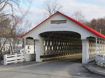 Photograph - A Covered Bridge by MTBobbins Photography