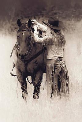 Photograph - A Cowgirls Love by Athena Mckinzie