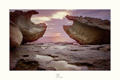 Photograph - A Crab Stone, By The Cosmic Joker by Adel Ferrito
