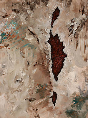 Painting - A Crack In The Earth by Julianne Hunter