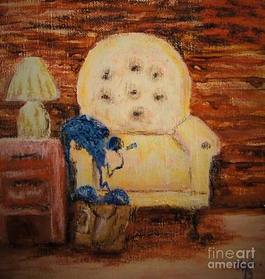 Comfort Painting - A Crochet Project  by Sandra Gallegos
