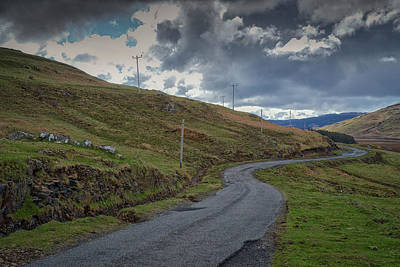 Photograph - A Crooked Road by Christopher Rees