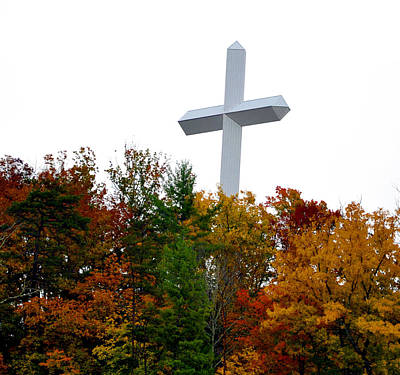 A Cross In Tennessee Art Print