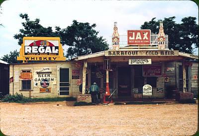 A Cross Roads Store, Bar, Juke Joint Art Print by Everett