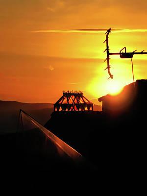 Photograph - A Crowning Sunset by Menega Sabidussi