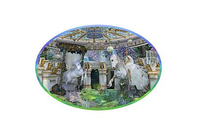 Fantasy Digital Art - A Curious Dream by Betsy Knapp