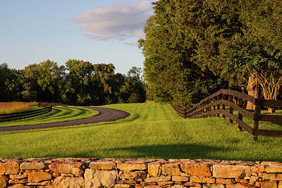 Wall Art - Photograph - A Curvy Path by Cliff Middlebrook