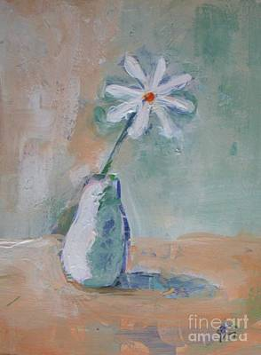 Daisy Mixed Media - A Daisy by Vesna Antic