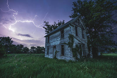 Photograph - A Dark And Stormy Place by Aaron J Groen