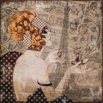 A Date With Paris II Original by Mindy Sommers
