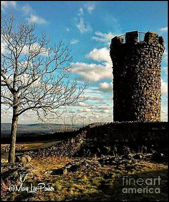 A Day At  Craigs  Castle   Art Print