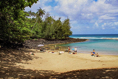 Photograph - A Day At Ke'e Beach by Bonnie Follett