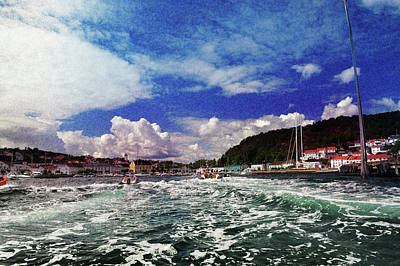Photograph - A Day At Sea by Randi Grace Nilsberg