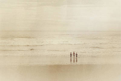 Photograph - A Day At The Beach by Heidi Hermes