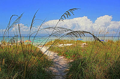 Photograph - A Day At The Beach by HH Photography of Florida