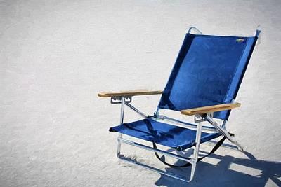 A Day At The Beach In Destin Art Print