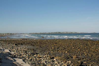 Photograph - A Day At The Beach Long Sands Beach York Maine 5 by Michael Saunders