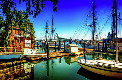 Photograph - A Day At The Port by Joseph Hollingsworth