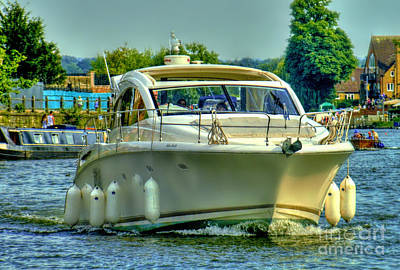 Photograph - A Day Cruising by Lance Sheridan-Peel