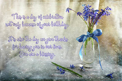 A Day For Celebration Art Print by Randi Grace Nilsberg