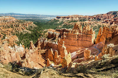 Photograph - A Day In Bryce Canyon by Margaret Pitcher