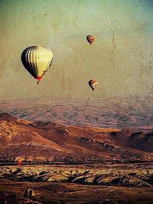 Mixed Media - A Day In Cappadocia by Helissa Grundemann