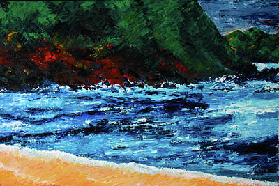 Painting - A Day In Costa Rica by Frank Botello