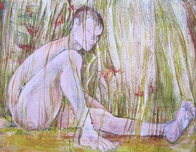 A Day In The Grass Art Print by Georgia Annwell
