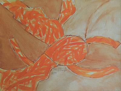 A Day In The Life Of Orange Original by Nannette Kelly