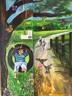 Painting - A Day In The Park - 1 by Belinda Low