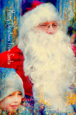 Photograph - A Day With Santa by Diana Angstadt