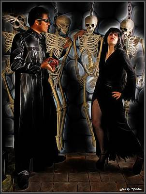 Painting - A Dead Mans Party by Jon Volden