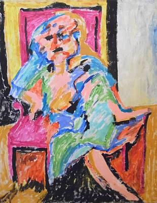 Painting - A Degenerate Woman by Esther Newman-Cohen