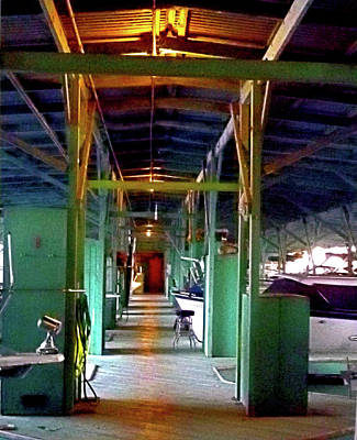 Photograph - A Delta Boat Shed by Joseph Coulombe