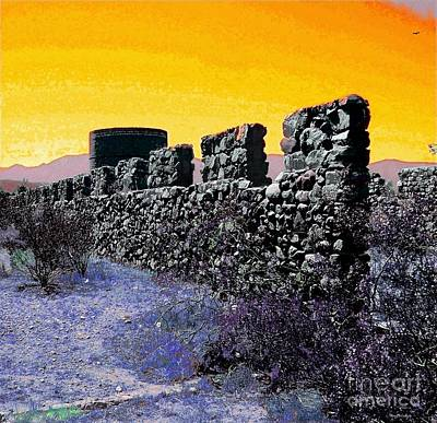 Silos Photograph - A Desert Host 2 by Glenn McCarthy Art and Photography