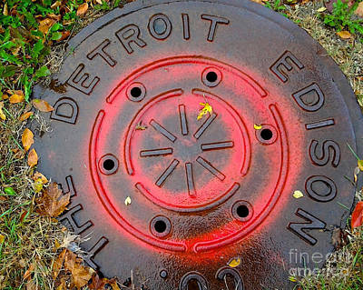 A Detroit Thing Art Print by Sandra Church