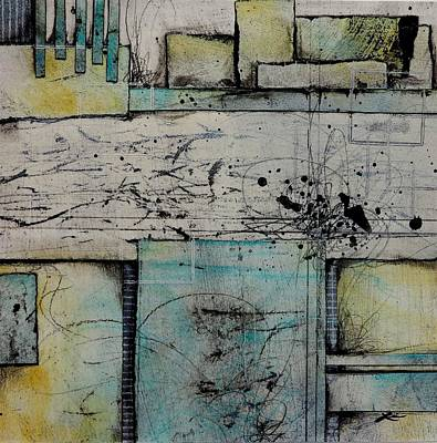 Turquoises Mixed Media - A Different Approach  by Laura Lein-Svencner
