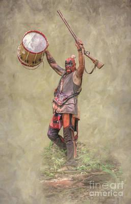 Digital Art - A Different Drummer Bushy Run   by Randy Steele