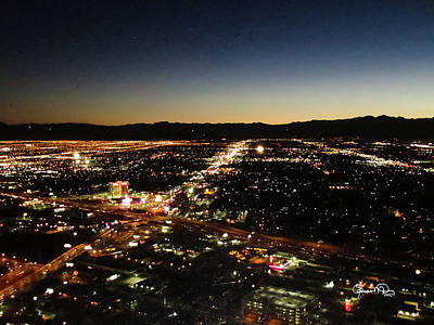 Photograph - A Different Las Vegas Glitter by Susan Molnar