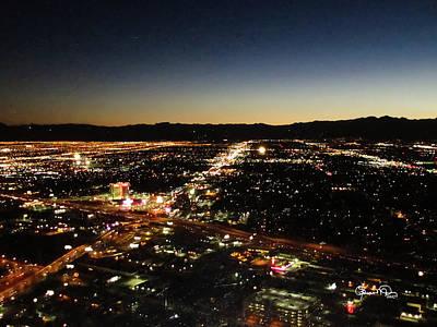 Photograph - A Different Las Vegas Glitter by Susan Molnar
