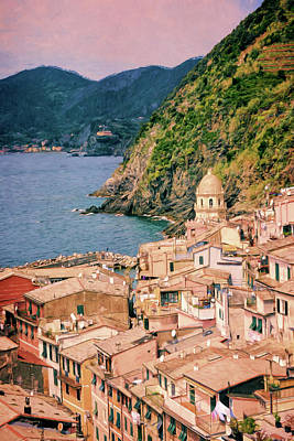 Italy Photograph - A Different Side Of Vernazza Cinque Terre by Joan Carroll
