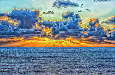 Photograph - A Different Sunset by Joseph S Giacalone