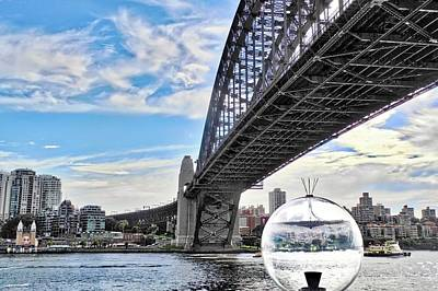 Photograph - A Different View Of Sydney Australia by Kirsten Giving