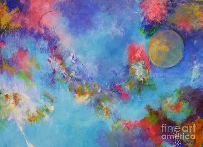 Painting - Another World by Dagmar Helbig