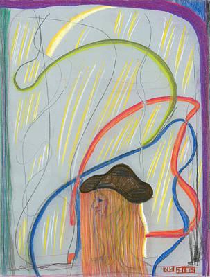 Pastel - A Difficult Trip by Diane Morrison