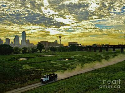 Photograph - A Dirt Road by Diana Mary Sharpton