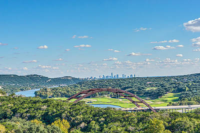 Austin Photograph - A Distance View  by Tod and Cynthia Grubbs